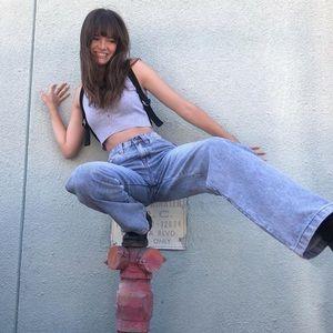 Brandy Melville Ariana painter jeans